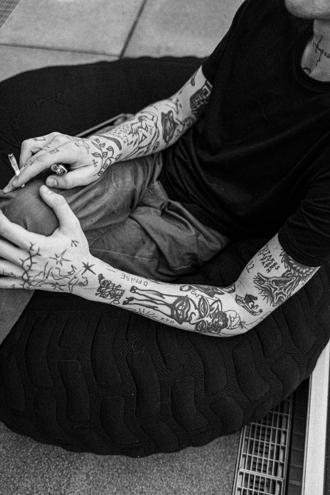 Dort treffe ich dann meinen vater tattoo
